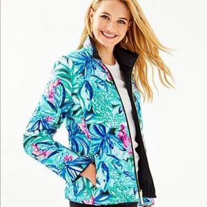 Lilly Pulitzer Marilee Reversible Puffer Jacket 12